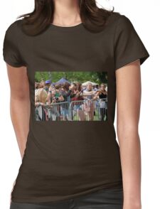 Music festival fans Womens Fitted T-Shirt
