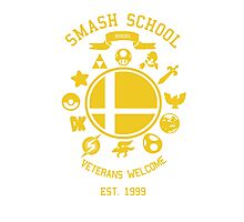 Smash School Veteran Class (Yellow) Photographic Print