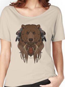 Tribal Bear Women's Relaxed Fit T-Shirt