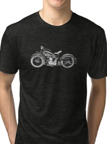 1937 Indian Chief Motorcycle Tri-blend T-Shirt