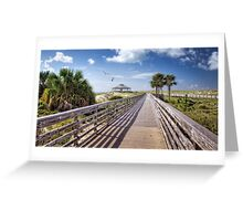 This Way to The Beach Greeting Card