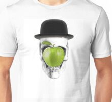 Magritte Skull Unisex T-Shirt