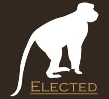 Elected monkey by jaxxx