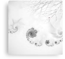 Winter calls Canvas Print