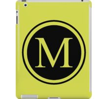 Monogram M iPad Case/Skin