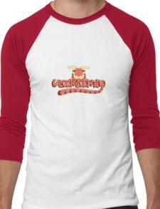 rick and morty gazorpazorpfield  Men's Baseball ¾ T-Shirt