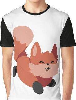 Foxy Smiles Graphic T-Shirt