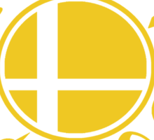 Smash School Veteran Class (Yellow) Sticker