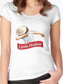 little dabbie Women's Fitted Scoop T-Shirt