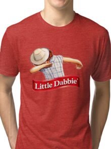 little dabbie Tri-blend T-Shirt