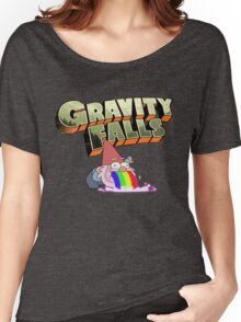 gravity falls gnome puke Women's Relaxed Fit T-Shirt