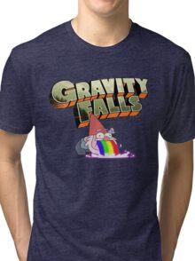 gravity falls gnome puke Tri-blend T-Shirt