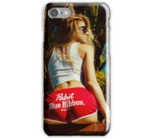 WHITE HOT AMERICA iPhone Case/Skin