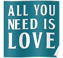 The Beatles, All You Need Is Love Poster