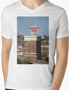 Kansas City - Western Auto Building Mens V-Neck T-Shirt