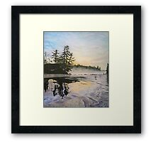 Sunrise Bonding Framed Print