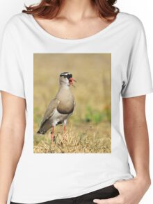 Plover Talk - Funny Nature and Entertaining Wildlife Women's Relaxed Fit T-Shirt