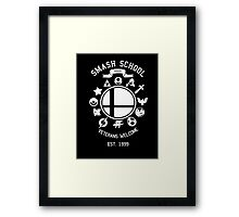 Smash School Veteran Class (White) Framed Print