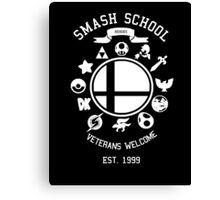 Smash School Veteran Class (White) Canvas Print