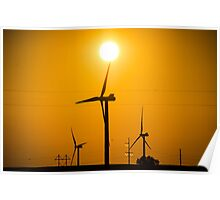 Windfarm of Awesome Poster