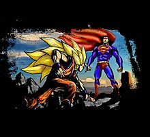 Goku VS Superman - Funny Epic Battle by Mellark90