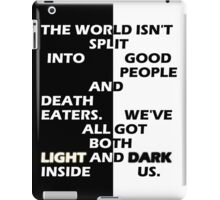 Good People and Death Eaters iPad Case/Skin
