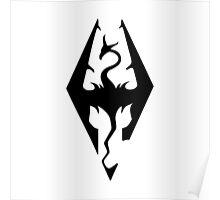 Skyrim Logo Poster