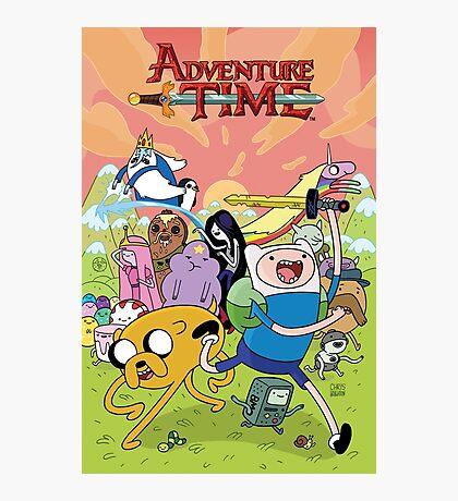 Adventure Time Phone Case Photographic Print