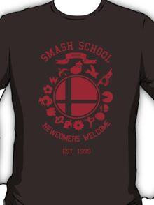 Smash School Newcomer (Red) T-Shirt