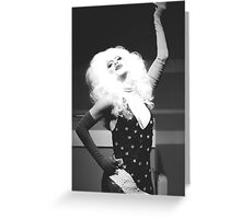 Sharon Needles Greeting Card