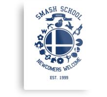 Smash School Newcomer (Blue) Metal Print