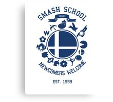 Smash School Newcomer (Blue) Canvas Print