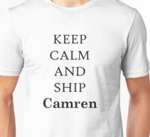 ship camren (black) Unisex T-Shirt