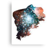 Brush Cosmic Canvas Print