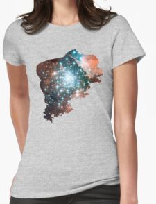 Brush Cosmic Womens Fitted T-Shirt