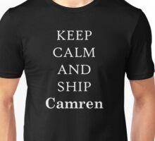 Ship Camren (white) Unisex T-Shirt