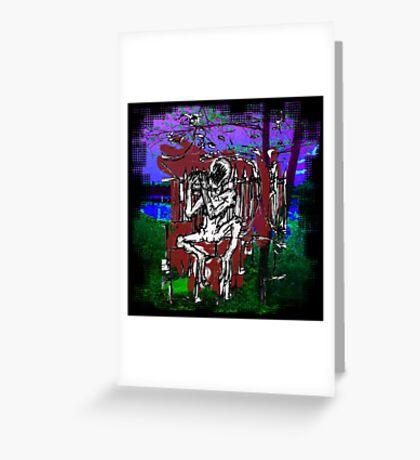 Ghoul Greeting Card