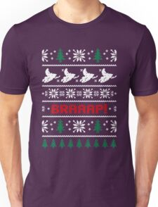 CHRISTMAS SWEATER KNITTED PATTERN Unisex T-Shirt