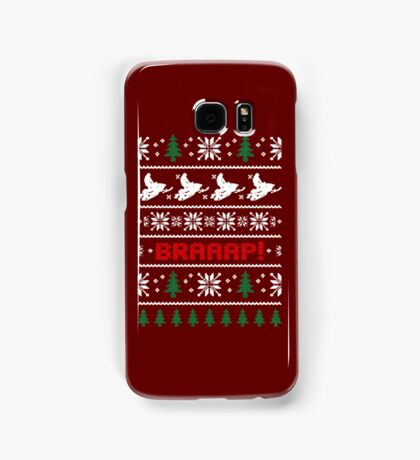 CHRISTMAS SWEATER KNITTED PATTERN Samsung Galaxy Case/Skin