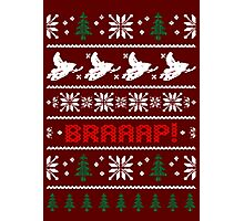 CHRISTMAS SWEATER KNITTED PATTERN Photographic Print
