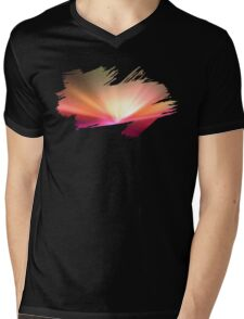 Brush Brightness Mens V-Neck T-Shirt