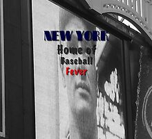 New York Home of Baseball Fever by don thomas