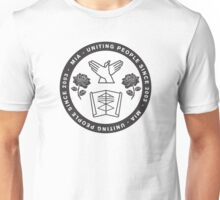 Uniting People - Rose Hands Scroll  Unisex T-Shirt