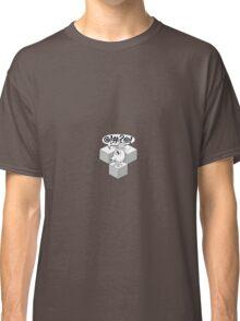 QBert Stencil Classic T-Shirt
