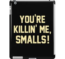 You're Killin' Me, Smalls!  Baseball Nostalgia iPad Case/Skin