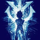 super sayan -blue by frederic levy-hadida