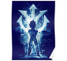 super sayan -blue Poster