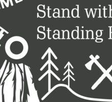 American Indian - Standing Rock Sticker