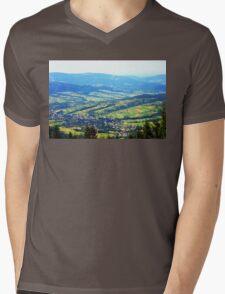 photo highland Mens V-Neck T-Shirt