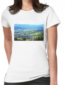 photo highland Womens Fitted T-Shirt